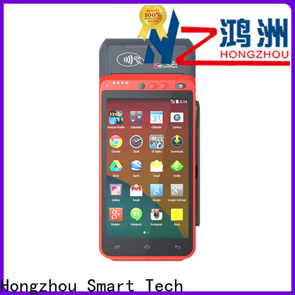 Hongzhou mobile pos terminal factory in library