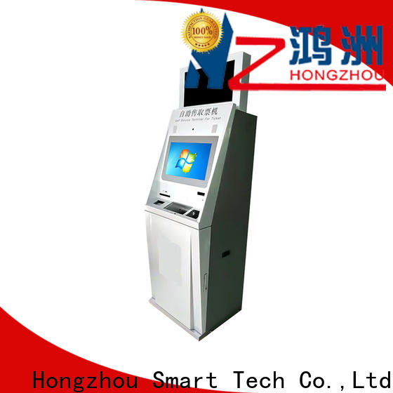 Hongzhou custom self service ticketing kiosk supplier on bus station