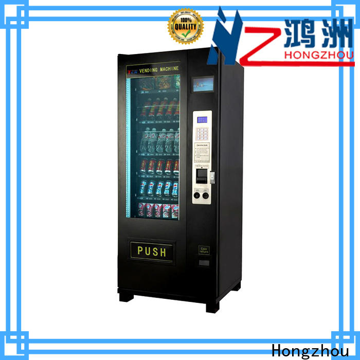 Hongzhou automated vending machine multiple payment for airport