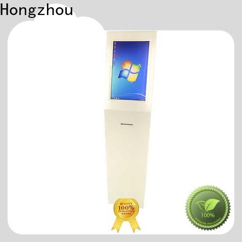 floor standing digital information kiosk for busniess in airport