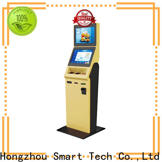 Hongzhou hotel check in kiosk with barcode scanner for sale
