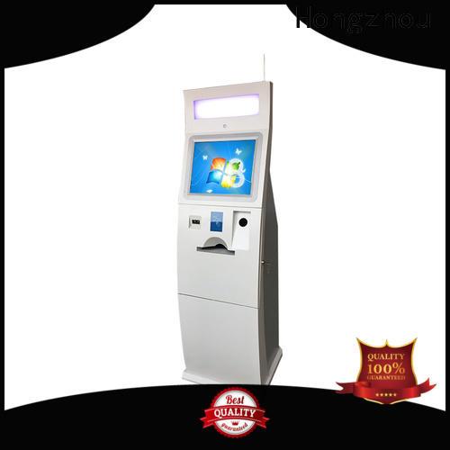 Hongzhou bill payment kiosk company in hotel