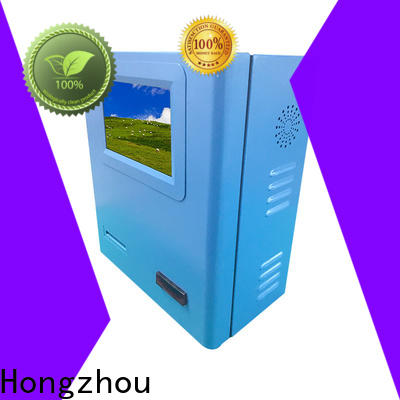 Hongzhou high quality kiosk payment terminal acceptor for sale