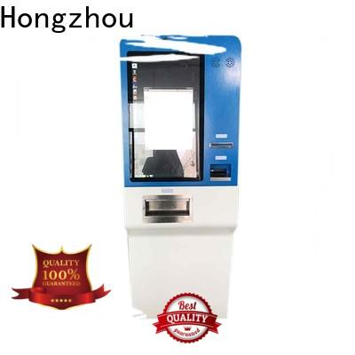 Hongzhou payment kiosk with laser printer for sale
