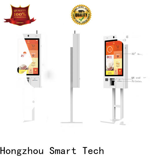 Hongzhou self service kiosk with qr code scanner for business