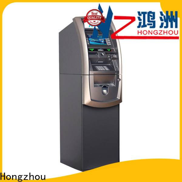Hongzhou exchange kiosk with touch screen for bill payment