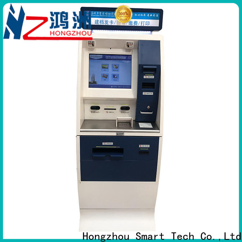 Hongzhou new patient self check in kiosk board for sale