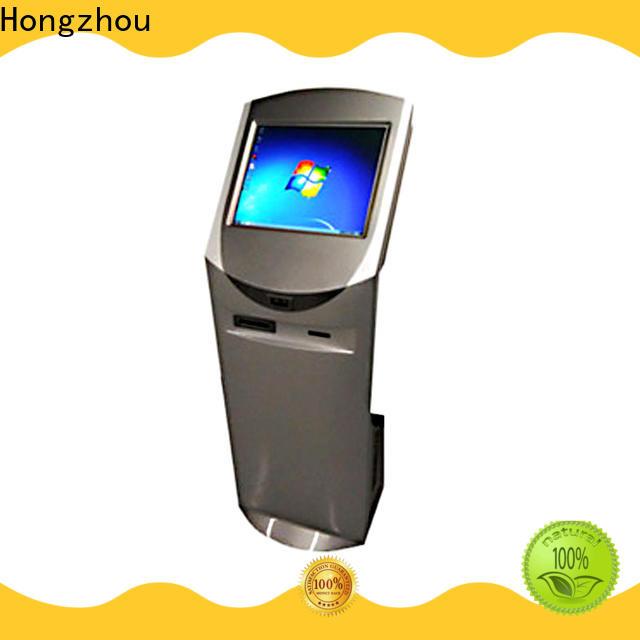 Hongzhou digital information kiosk receipt for sale