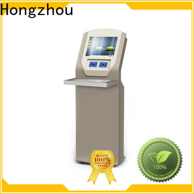 Hongzhou top library information kiosk factory in book store