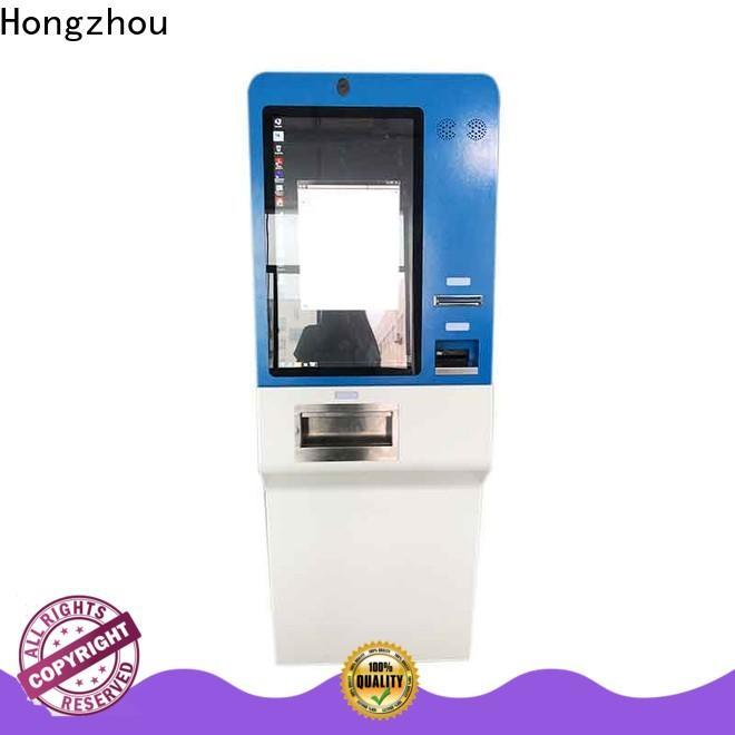 Hongzhou self payment kiosk acceptor in bank