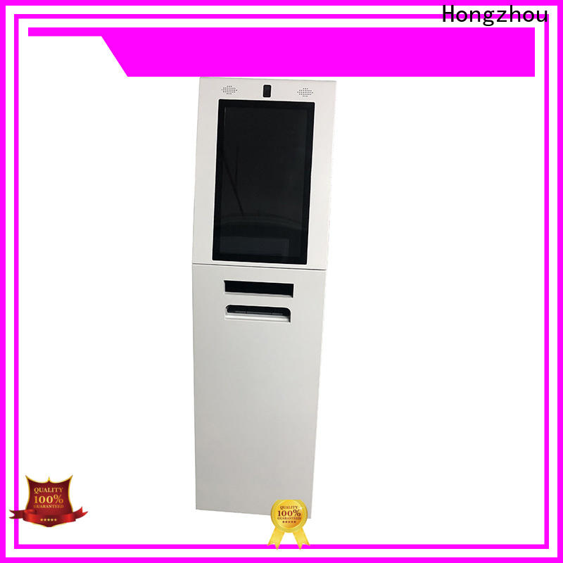 Hongzhou top information kiosk with printer in airport
