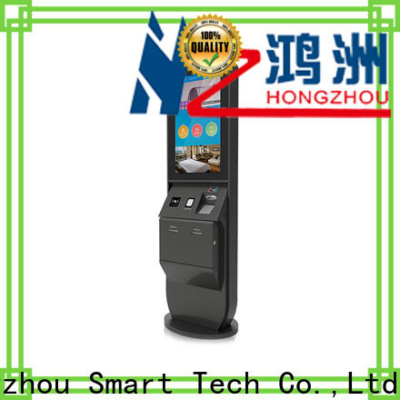 Hongzhou thermal hotel self check in kiosk manufacturer in hotel