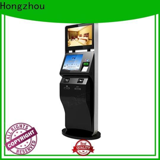 Hongzhou professional ticketing kiosk company on bus station