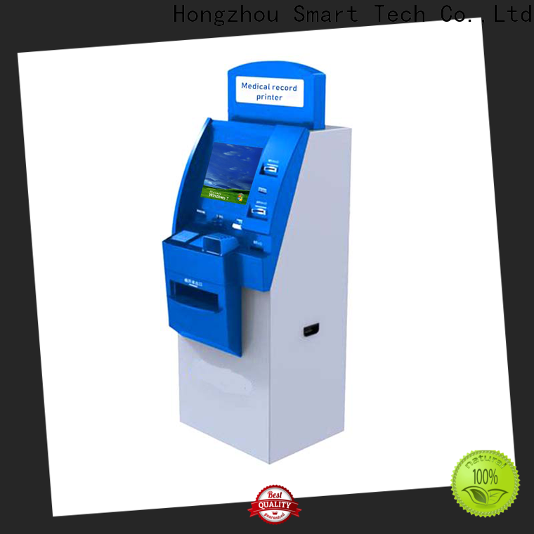 Hongzhou high quality hospital check in kiosk operated for sale