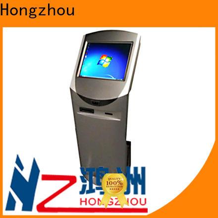 high quality digital information kiosk with printer in bar