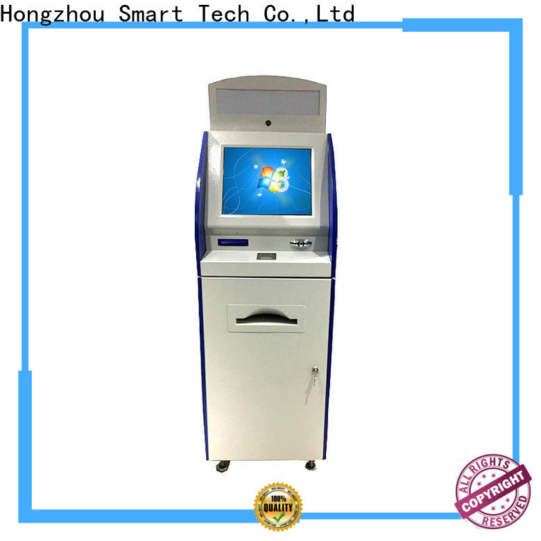 routing digital information kiosk manufacturer in airport