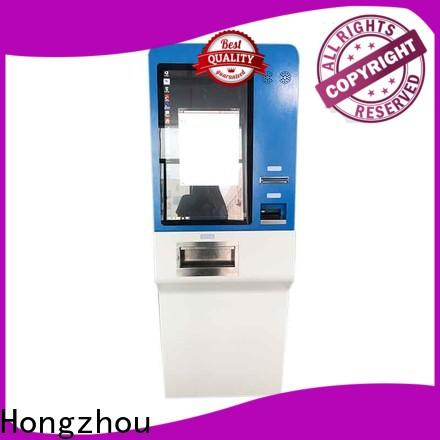Hongzhou custom self payment kiosk powder for sale