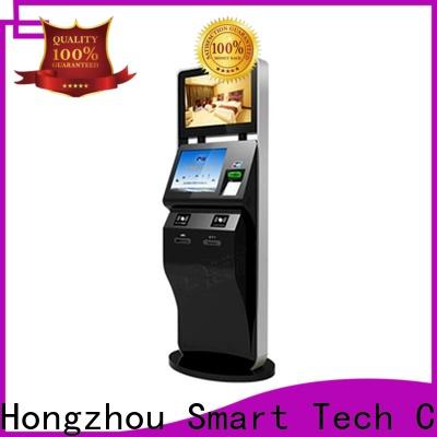 Hongzhou best self service ticketing kiosk supplier for sale