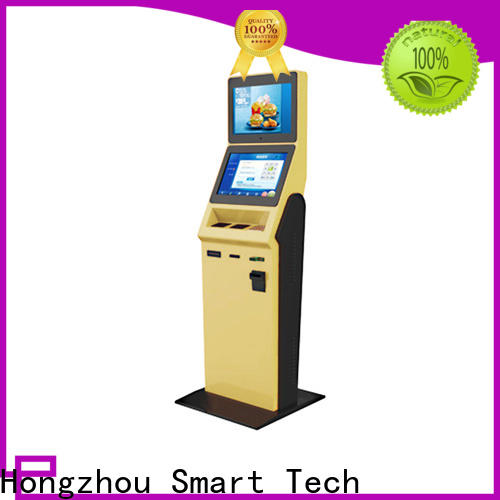 Hongzhou hotel self check in machine with printer in villa