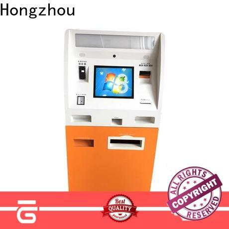 Hongzhou kiosk payment terminal acceptor for sale