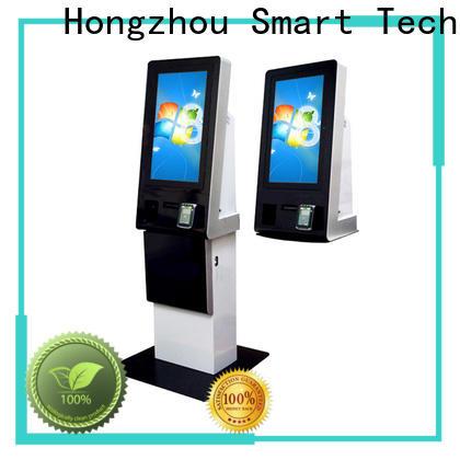 Hongzhou self payment kiosk keyboard in hotel