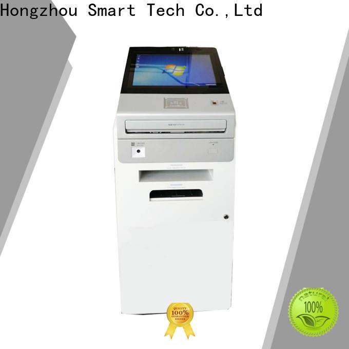 Hongzhou digital information kiosk with qr code scanning in bar