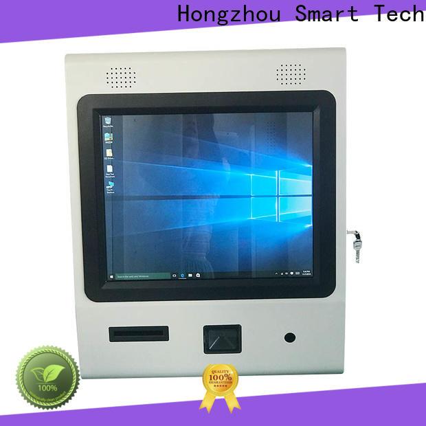 Hongzhou thermal digital information kiosk receipt in airport