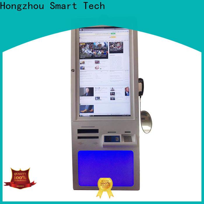Hongzhou capacitive hospital kiosk factory for patient