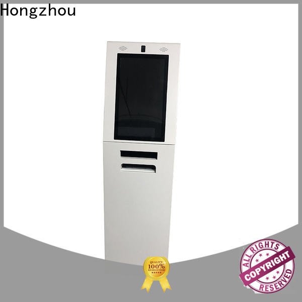 high quality information kiosk machine with camera in airport