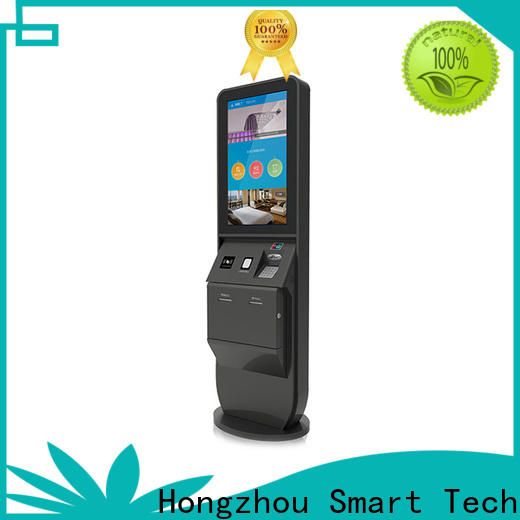 Hongzhou custom hotel self check in machine manufacturer in hotel