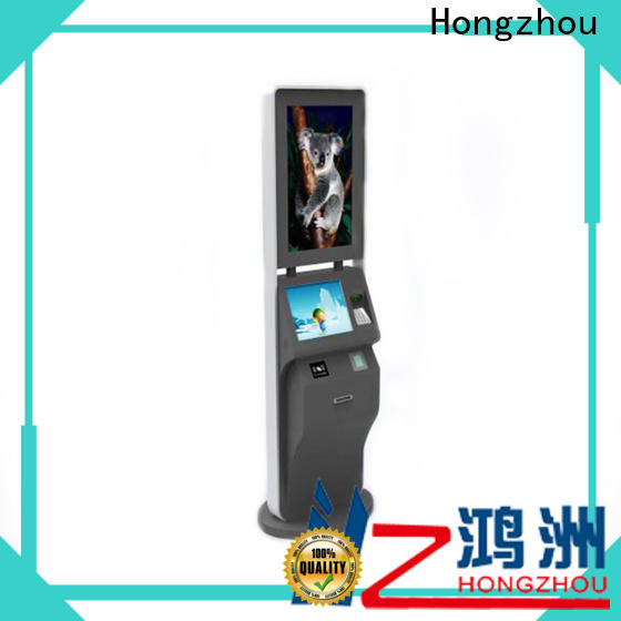 Hongzhou ticketing kiosk with wifi on bus station