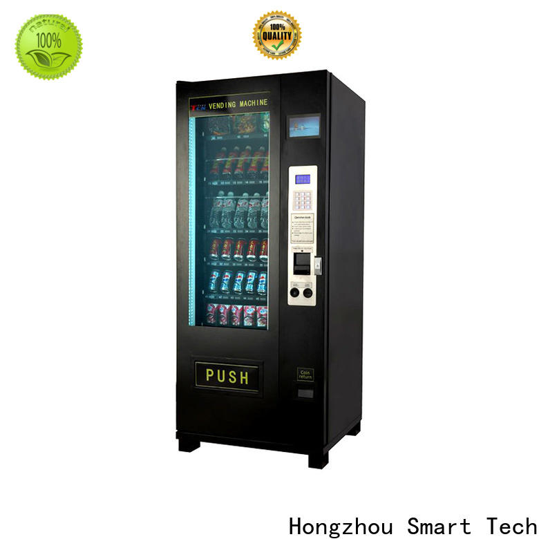 top automated vending machine with barcode scanner for supermarket