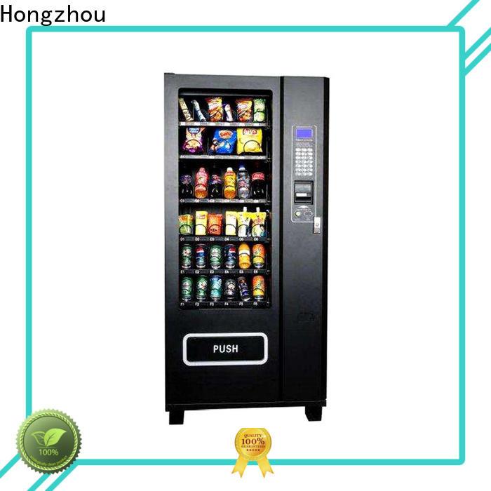 Hongzhou drinks snack vending machine manufacturer for sale
