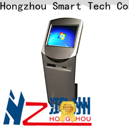 Hongzhou information kiosk with printer in airport