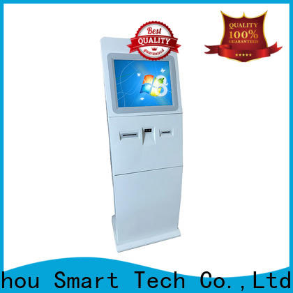 floor standing touch screen information kiosk for busniess for sale