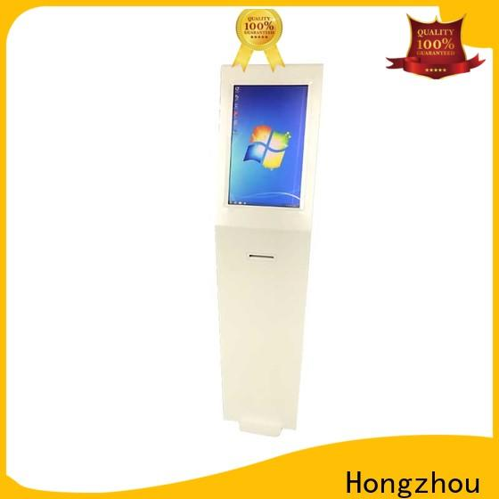 Hongzhou information kiosk with qr code scanning in airport
