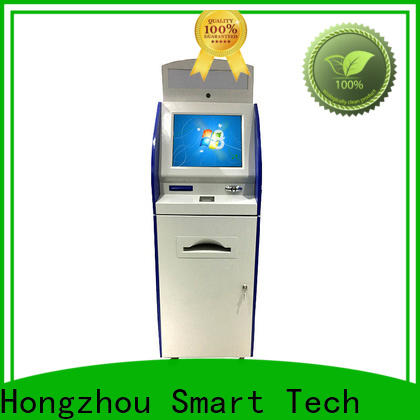 Hongzhou touch screen information kiosk appearance in airport