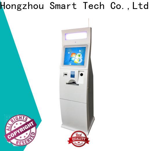 dual screen bill payment machine manufacturer in hotel