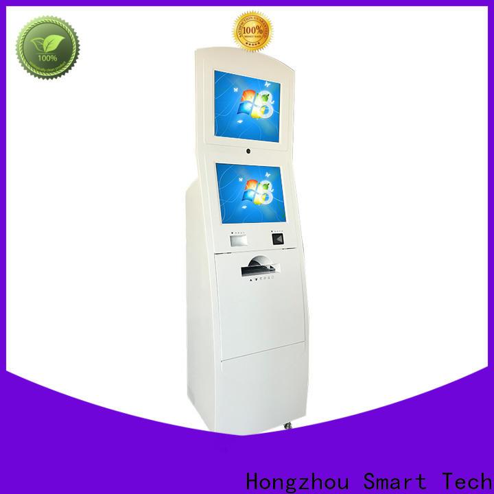 Hongzhou interactive information kiosk receipt in bar