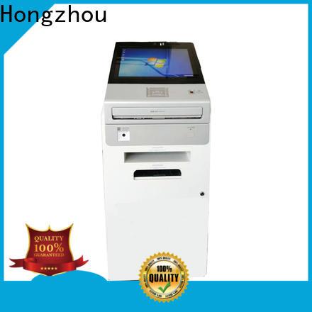 Hongzhou touch screen information kiosk company in bar