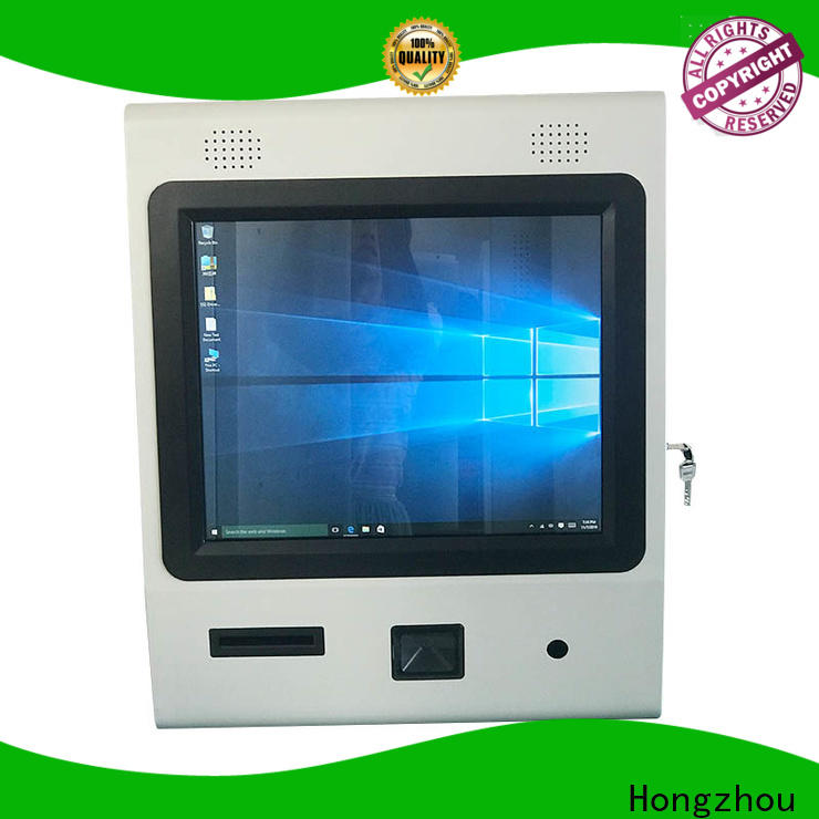 Hongzhou wireless information kiosk for busniess in bar