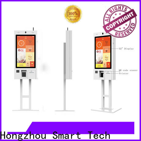 best self ordering kiosk with qr code scanner for business