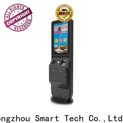 Hongzhou best hotel self check in machine factory in hotel