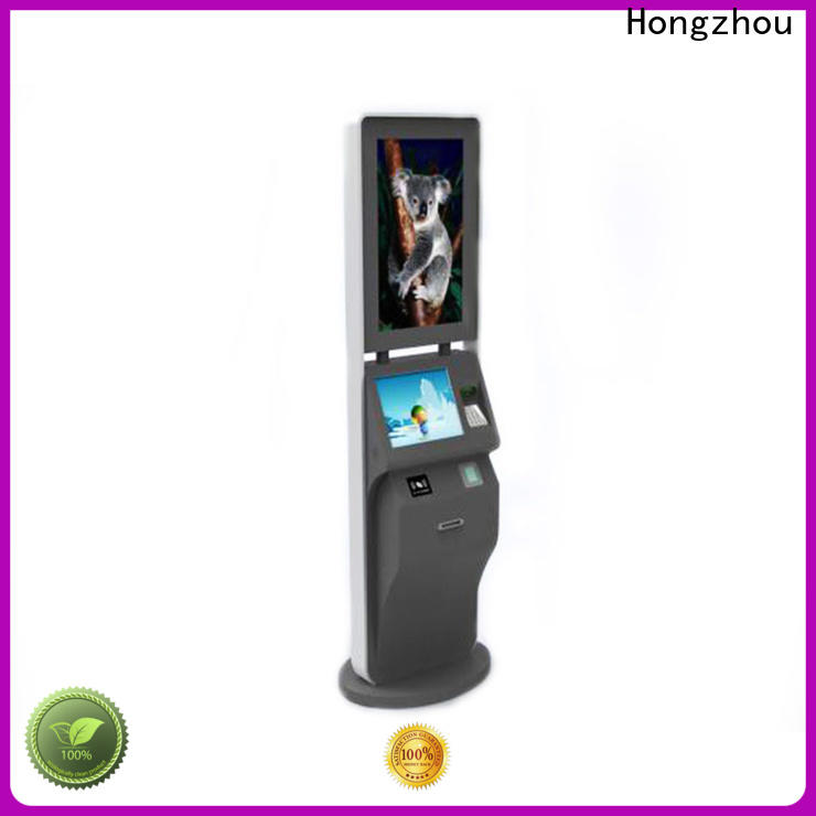 Hongzhou wholesale ticketing kiosk for busniess on bus station