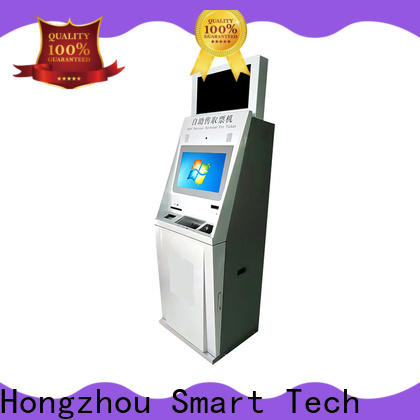 touch screen self service ticketing kiosk with wifi on bus station