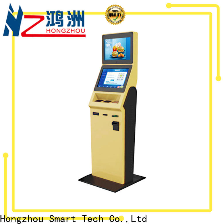 Hongzhou hotel self check in kiosk manufacturer in villa