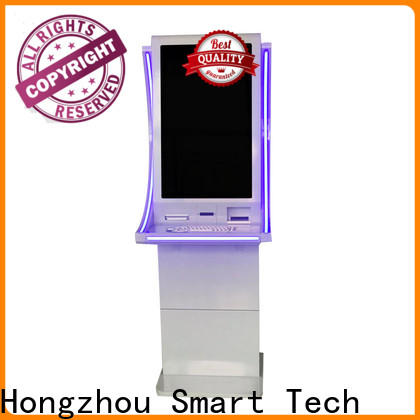 Hongzhou blue automated payment kiosk coin in bank