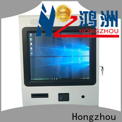 Hongzhou custom interactive information kiosk company for sale
