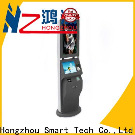 Hongzhou high quality self service ticketing kiosk supplier in cinema