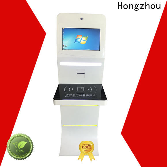 Hongzhou customized library kiosk manufacturer in library